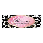 311 Bodacious Boutique Leopard Hang Tag Business Card