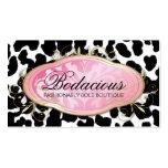 311 Bodacious Boutique Leopard Spots Business Card