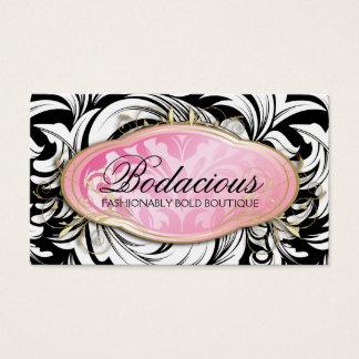 311 Bodacious Lavish Boutique Leopard Spots Business Card
