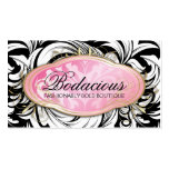 311 Bodacious Lavish Boutique Leopard Spots Double-Sided Standard Business Cards (Pack Of 100)