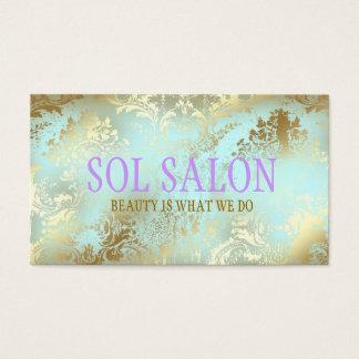 311 Boho Sol Blue Spa, Salon or Boutique Business Card