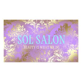 311 Boho Sol Lilac Purple Spa, Salon or Boutique Business Cards