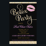 """311 Botox Party Sparkle Lips Flyer<br><div class=""""desc"""">Design by Jill McAmis &#169; 2013. This faux sparkle design is perfect for that glamorous girly touch to any botox party. Add that touch of bling this vegas style design.</div>"""