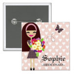 311-BRIDAL PARTY PIN INTERCHANGEABLE HAIR