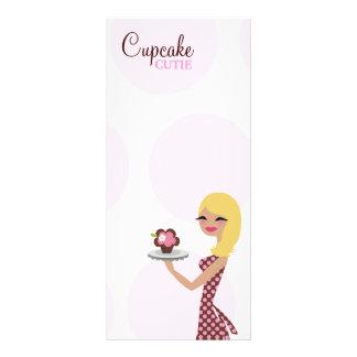 311 Candie el Blonde de Cutie de la magdalena Lona Publicitaria