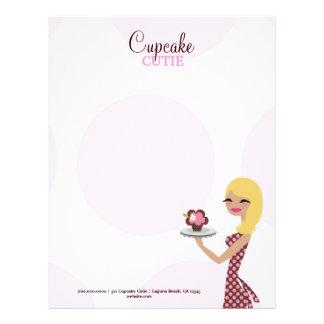 311-Candie el Blonde de Cutie el de la magdalena Membretes Personalizados