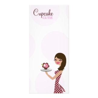 311 Candie el Brunette de Cutie de la magdalena Tarjetas Publicitarias Personalizadas