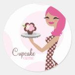 311-Candie el pegatina rosado de Cutie de la