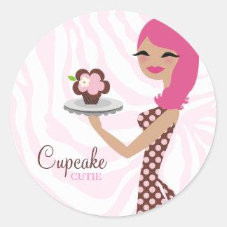311-Candie el pegatina rosado de Cutie de la magda