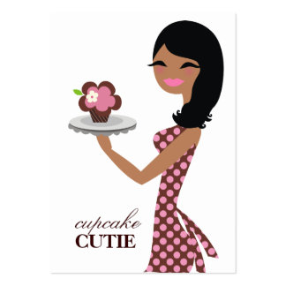 311 Candie the Cupcake Cutie A American V2 Large Business Cards (Pack Of 100)