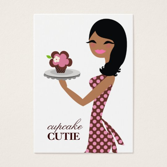 311 Candie the Cupcake Cutie A American V2 Business Card