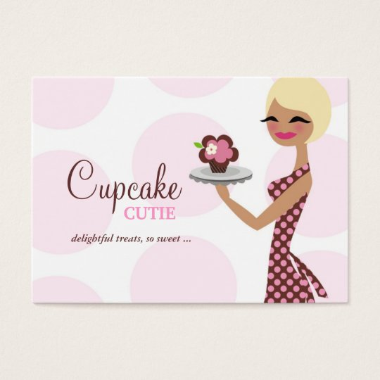 311 Candie the Cupcake Cutie Chubby Business Card