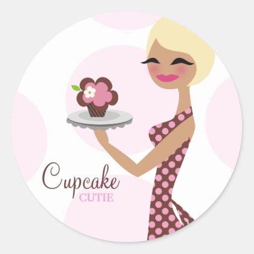 311-Candie the Cupcake Cutie Sticker