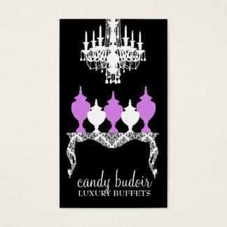 311 Candy Budoir Purple Rococo Business Card