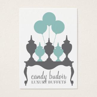 311 Candy Budoir Robin Blue Gray Business Card