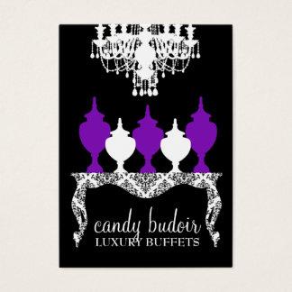 311 Candy Budoir Rococo Deep Purple Business Card