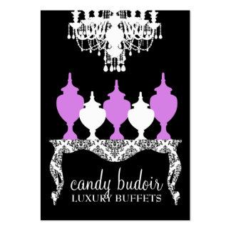 311 Candy Budoir Rococo Purple Large Business Cards (Pack Of 100)