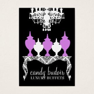 311 Candy Budoir Rococo Purple Business Card
