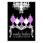 311 Candy Budoir Rococo Purple Large Business Card