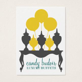 311 Candy Budoir Yellow Gray Business Card
