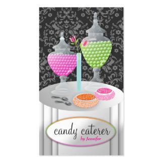 311-Candy Caterer Double-Sided Standard Business Cards (Pack Of 100)