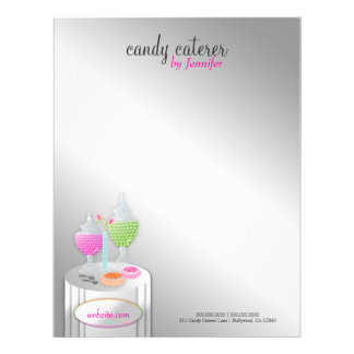 311-Candy Caterer | Letterhead