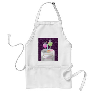 311-Candy Caterer | Purple Adult Apron