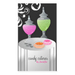 311-Candy Caterer Version 3 Swanky Swirls Business Card