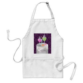 311-Candy púrpura del abastecedor el | Delantal
