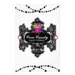 311 Candy Wonderland Black White Full Color Flyer