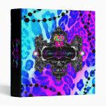 311 Candy Wonderland Leopard Binder