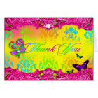 311 Candy Wonderland Pink Sweet 16 Thank You Cards