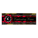 311 Captivating Camo Racy Red Business Card