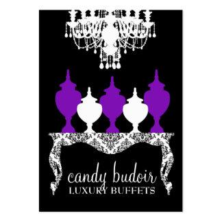 311 caramelo Budoir Deep Purple rococó Tarjetas De Visita Grandes