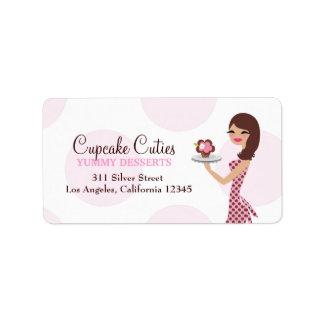 311 Carlie la etiqueta de dirección de Cutie de la