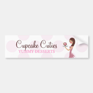 311 Carlie the Cupcake Cutie Bumper Sticker