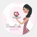 311 Carlie the Cupcake Cutie Sticker