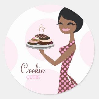 311-Carmella el pegatina de Cutie de la galleta