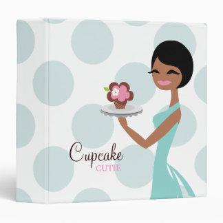 311 Carmella the Cupcake Cutie Binder Tiffany Blue