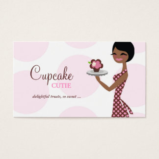 311 Carmella the Cupcake Cutie Business Card