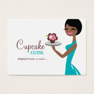 311 Carmella the Cupcake Cutie Gift Box Blue Business Card
