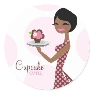 311-Carmella the Cupcake Cutie Sticker sticker