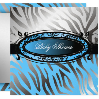 311-C'est Luxueux | Hot Momma Pink Zebra  | Baby Card