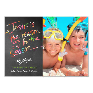 311 Cheerful Jesus is the Reason for the Season 5x7 Paper Invitation Card