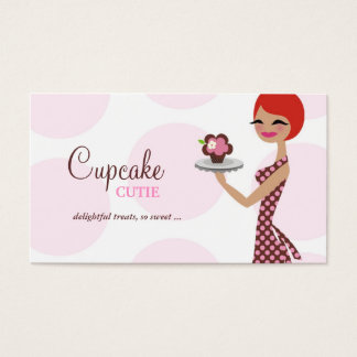 311 Cherrie the Cupcake Cutie Business Card