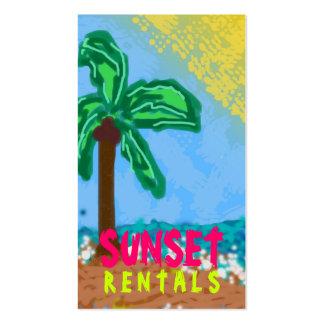311-CHRISTY'S BEACH | ORANGE BUSINESS CARDS