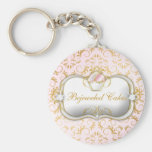 311-Ciao Bella Bejeweled Cakes Basic Round Button Keychain
