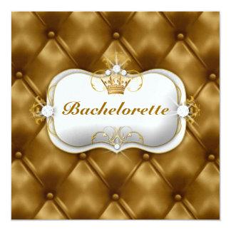 311 Ciao Bella Bliss Golden Tuft 5.25x5.25 Square Paper Invitation Card