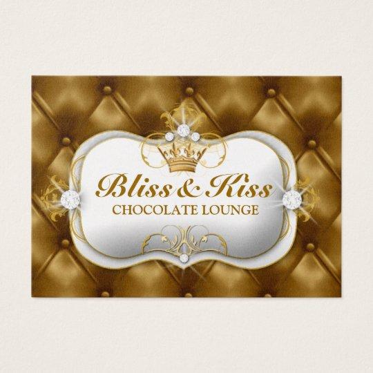 311 Ciao Bella Bliss Golden Tuft Metallic Business Card