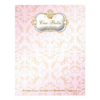 311-Ciao Bella Golden Divine Letterhead